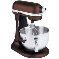 KitchenAid KP26M1XES Espresso Professional 600 Series 6 Qt. Countertop Mixer