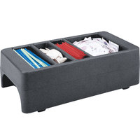 Cambro LCDCH191 Granite Gray Condiment Holder for Cambro 250LCD / 500LCD / UC250 / UC500
