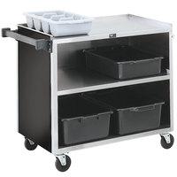 Vollrath 97182 3 Shelf Bussing Cart - 39 inch x 21 inch x 35 inch
