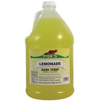 Fox's Lemonade Slush Syrup - (4) 1 Gallon Containers / Case