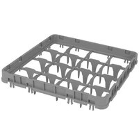 Cambro 16E1151 Camrack 16 Compartment Soft Gray Full Drop Full Size Camrack Extender