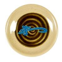 Wei 3 3/4 inch Round Melamine Saucer - 60/Case