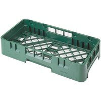 Cambro HBR258119 Sherwood Green Camrack Half Size Open Base Rack