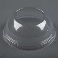 Dart Solo Conex DLW626 Clear PET Dome Lid with 2 inch Hole - 50 / Pack