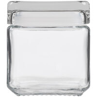 Anchor Hocking 85587R 1 qt. Stackable Square Jar