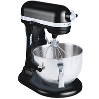 KitchenAid KP26M1XOB Onyx Black Professional 600 Series 6 Qt. Countertop Mixer