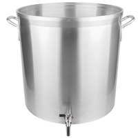 Vollrath 68681 Wear-Ever Classic Select 80 Qt. Heavy Duty Aluminum Stock Pot with Faucet
