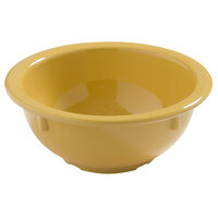 Carlisle 4386022 Honey Yellow Dayton 14 oz. Rimmed Bowl 24 / Case