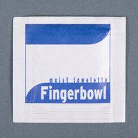 Royal Paper RF1MB Lemon Scented Moist Towelette / Wet Nap - 100/Pack