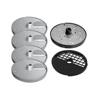 Berkel MPLATE-6PACK Accessory Package with SLICER-S2, SLICER-S3, SLICER-S11, SHRED-SH3, DICE-D11, and SLICER-J6X6 Discs