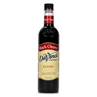 DaVinci Gourmet 750 mL Black Cherry Classic Coffee Flavoring / Fruit Syrup