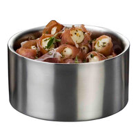American Metalcraft DWB6 34 oz. Insulated Stainless Steel Double Wall Bowl