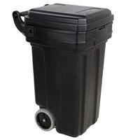 Continental 5850BK Tilt-N-Wheel 50 Gallon Black Trash Container