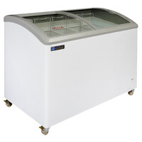 Master-Bilt Coldin-3 MSC-49A Curved Lid Display Freezer - 10.5 cu. ft.