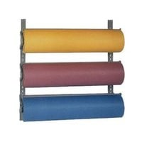 Bulman T292-15 15 inch Horizontal Three Paper Roll Wall Rack