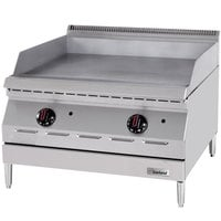 Garland GD-15G Designer Series Natural Gas 15 inch Countertop Griddle - 20,000 BTU