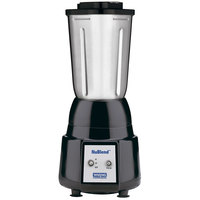 Waring BB180S NuBlend 2 Speed Commercial Bar Blender with Stainless Steel Container - 32 oz.