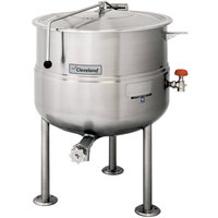 Cleveland KDL-40 40 Gallon Stationary 2/3 Steam Jacketed Direct Steam Kettle