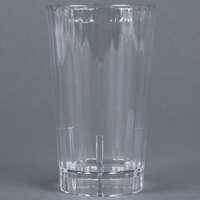 Cambro HT10CW135 Clear Camwear Huntington 10 oz. Customizable Plastic Tumbler - 36 / Case