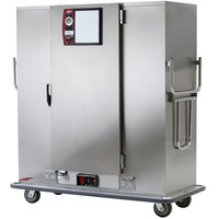 Metro MBQ-180-QH Insulated Heated Banquet Cabinet With Quad-Heat System- One Door Holds up to 180 Plates 120V