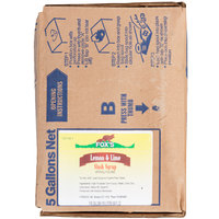 Fox's Bag In Box Lemon-Lime Slush Syrup - 5 Gallon