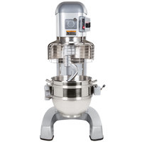 Hobart Legacy HL662-1STD 60 Qt. Commercial Planetary Floor Pizza Mixer with Standard Accessories - 200-240V, 2 7/10 hp