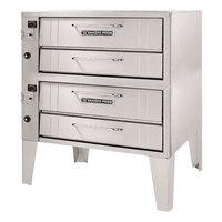 Bakers Pride 3152 Liquid Propane Pizza Deck Oven Double Deck 45 inch