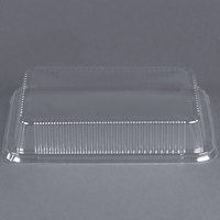 Durable Packaging P4700-250 Clear Dome Lid for 13 inch x 9 inch Foil Cake Pan - 25 / Pack