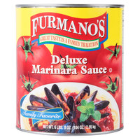 Furmano's #10 Can Deluxe Marinara Sauce - 6/Case