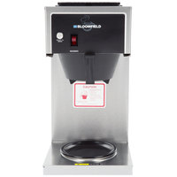 Bloomfield 8542-D1 Koffee King 1 Warmer In-Line Pourover Coffee Brewer, 120V; 1600W