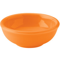 Hall China 30178325 Tangerine 5 oz. China Salsa Bowl 36 / Case