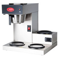 Avantco C30 Pourover Commercial Coffee Maker with 3 Warmers (120V)