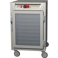 Metro C585-NFC-UPFC C5 8 Series Reach-In Pass-Through Heated Holding Cabinet - Full Length Clear Doors