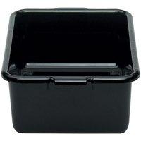 Cambro 21157CBR110 Cambox 21 inch x 15 inch x 7 inchBlack Plastic Regal  Bus Box