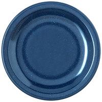 Carlisle 4350535 Dallas Ware 5 5/8 inch Cafe Blue Melamine Plate   - 48/Case