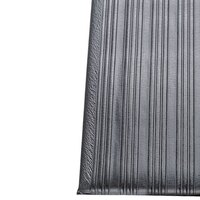 Ribbed Gray Tredlite Vinyl Anti-Fatigue Mat 36 inch Wide - 5/8 inch Thick