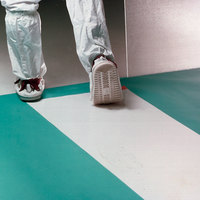 Cactus Mat 5051-1836 Tac-Mat 1 1/2' x 3' White Contaminate Control Dry Mat - 3/16 inch Thick - 120 / Case