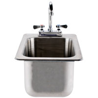 Advance Tabco DI-1-10 Drop In Stainless Steel Sink 10 inch Deep