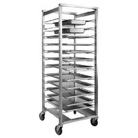Cres Cor 207-UA-13A 12 Pan End Load Universal Utility Rack - Assembled