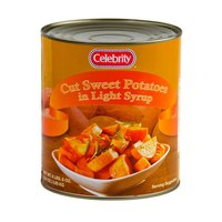 Cut Sweet Potatoes in Light Syrup - (6) #10 Cans / Case