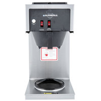 Bloomfield 8543-D2 Koffee King 2 Warmer In-Line Pourover Coffee Brewer, 120V; 1700W