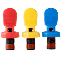 American Metalcraft EBSS311 Bottle Stoppers - 3 / Pack