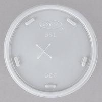 Dart 8SL Translucent Lid with Straw Slot - 100/Pack