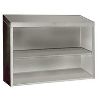 Advance Tabco WCO-15-48 48 inch Open Wall Cabinet