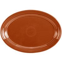 Homer Laughlin 456334 Fiesta Paprika 9 5/8 inch Platter - 12/Case