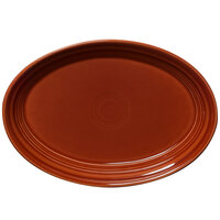 Homer Laughlin 456334 Fiesta Paprika 9 5/8 inch Platter - 12/Case