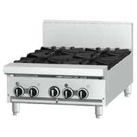 Garland GF24-4T Liquid Propane 4 Burner Modular Top 24 inch Range with Flame Failure Protection - 104,000 BTU