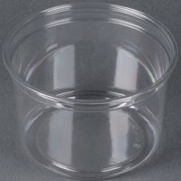 Dart Solo DM16R-0090 Bare 16 oz. Clear Deli Container Recycled - 500/Case