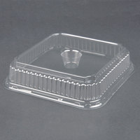 Genpak 95304 Clear Dome Lid for Genpak 55304 Dual Ovenable 4 Cup Plastic Muffin Pan 125 / Pack