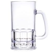 GET 00085-SAN-CL 20 oz. SAN Plastic Mug 12 / Pack